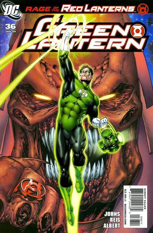 Green Lantern Vol 4 36 Dc Comics Database