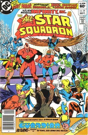 Cover for All-Star Squadron #25