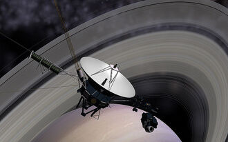 Voyager Saturn