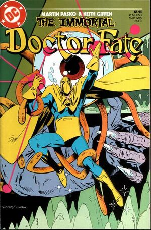 Cover for Immortal Doctor Fate #3