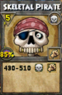 Skeletal Pirate (Spell)
