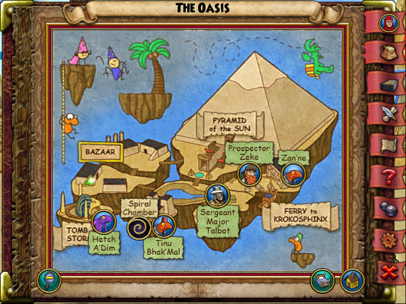 Oasis Hidden Shop Instructions 1