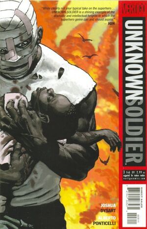 Cover for Unknown Soldier #3