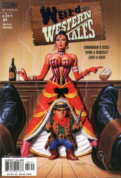 Cover for Weird Western Tales #3