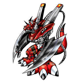 WarGrowlmon b