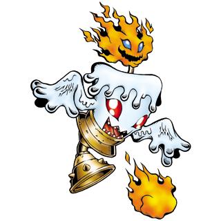 Digimon #000: Candlemon Candlemon_b