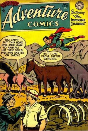Cover for Adventure Comics #206