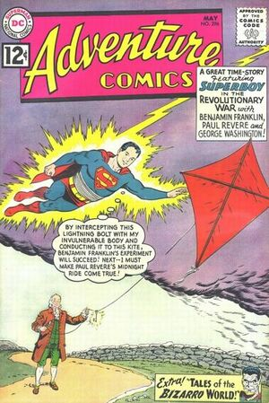 Cover for Adventure Comics #296