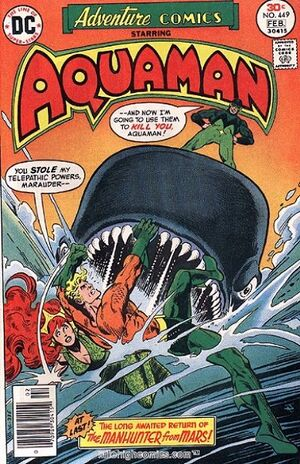 Cover for Adventure Comics #449