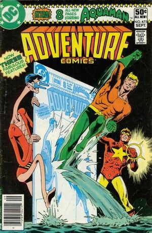 Cover for Adventure Comics #475