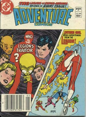 Cover for Adventure Comics #499
