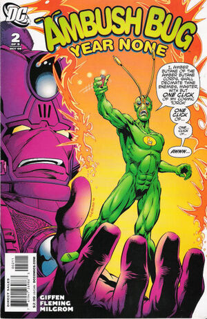Cover for Ambush Bug: Year None #2