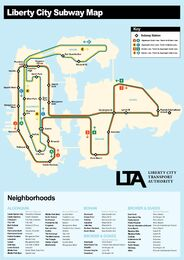 LC Subway Map