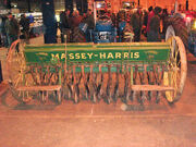 Massey-Harris seed drill - rear at Bath - DSC01678 edited