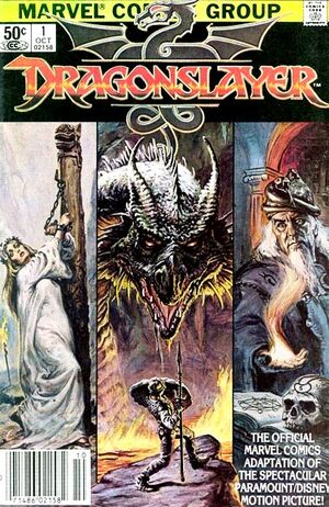 Dragonslayer Vol 1 1