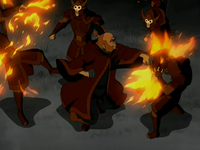 Iroh fights