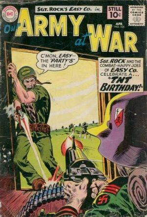 Cover for Our Army at War #105