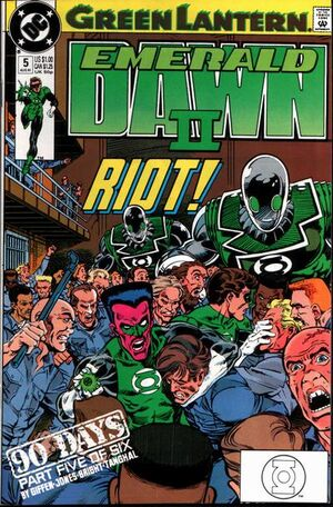 Cover for Green Lantern: Emerald Dawn #5