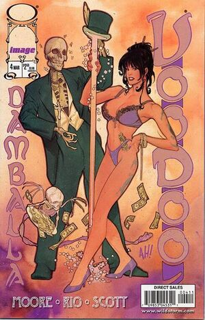 Cover for Voodoo #4