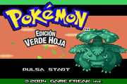 Pokmon Verde Hoja