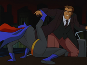 Batgirl fights Gil