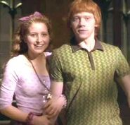 Lavender Brown and Ron Weasley 01