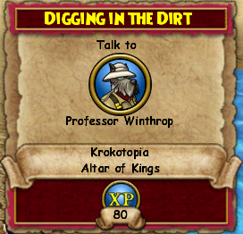 Digging In The Dirt