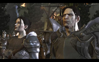 Teyrn Loghain and Ser Cauthrien