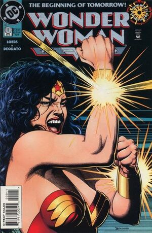 Cover for Wonder Woman #0