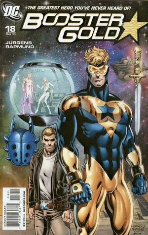 Cover for Booster Gold #18