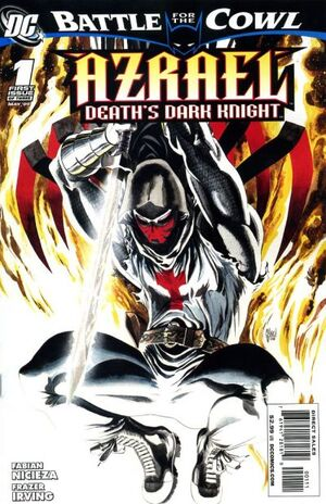Cover for Azrael: Death&#39;s Dark Knight #1
