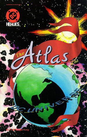 Cover for Atlas of the DC Universe #