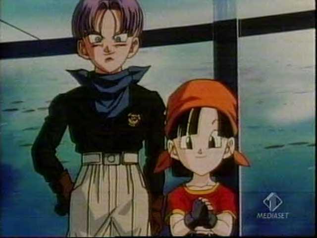 Trunks Dragon Ball Wiki. Trunks_and_Pan.jpg (640 × 480