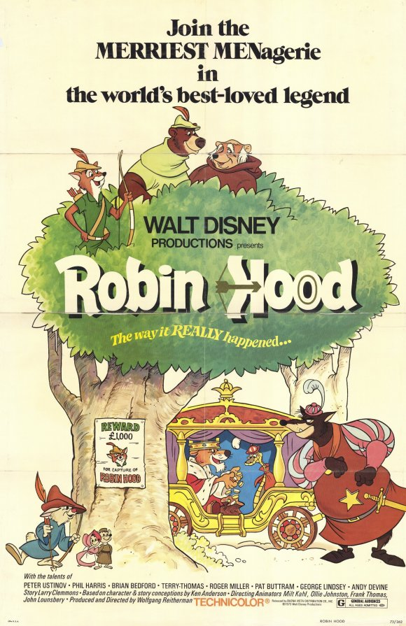 Robinhood 1973 poster