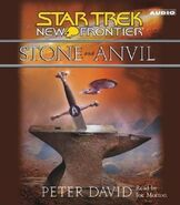 Stone and Anvil audiobook CD cover