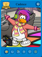 Club Penguin Charaters 137px-Cadence_card