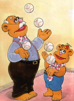Fozzie&#39;s grandpa