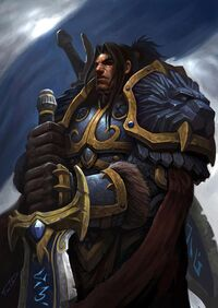 King Varian Wrynn Fan