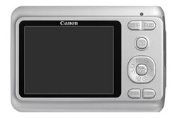 Powershot-a480-silver-back