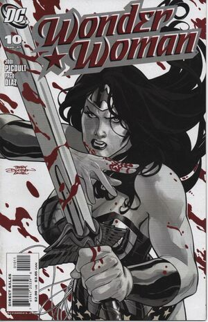 Terry dodsons wonder woman art