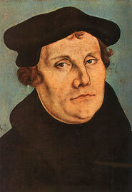 Martin Luther by Lucas Cranach der ltere