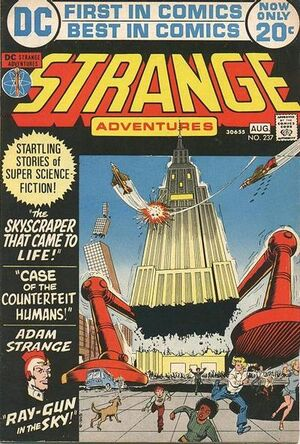 Cover for Strange Adventures #237