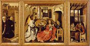 Campin merode altarpiece big