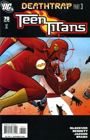 Cover for Teen Titans #70