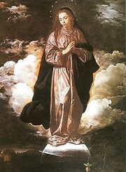 Virgin Mary - Diego Velazquez