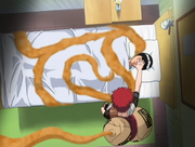 Gaara Attempting To Kill Lee