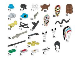 5317 Wild West Accessories