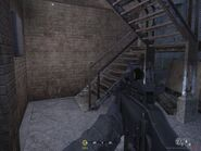 Stairs leading to balcony Hunted CoD4