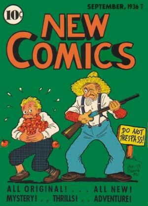 Cover for New Comics #8