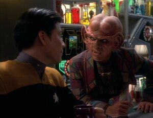 Harry Kim and Quark